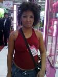 Tattoo Temporária - Público Stand Cadiveu - Hair Brasil 2010